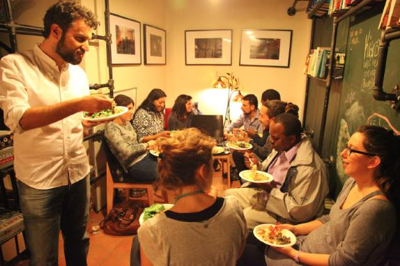Options Foodlab: How food making and sharing is supporting migrant integration in Greece