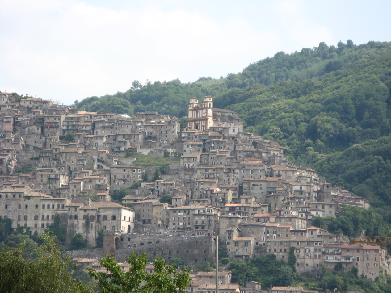 Fig. 3 Artena, Italy (source: Wikipedia)